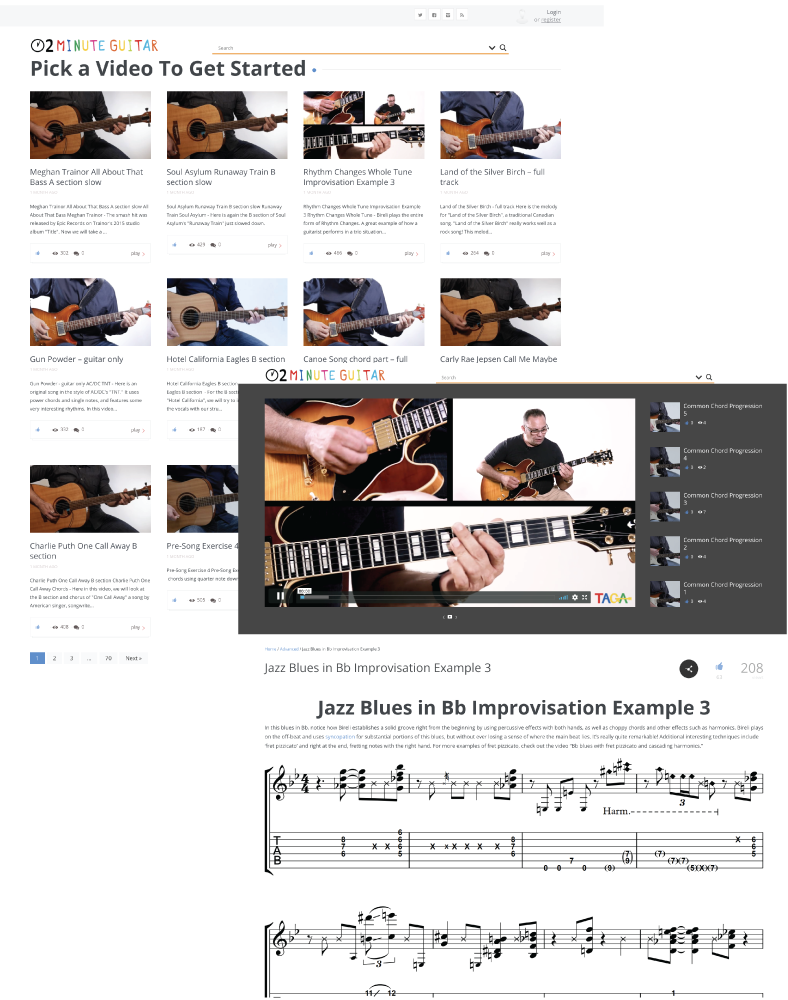 Learn guitar online taught by international experts 2 minute guitar and have everything in one place with professional guidance in a quick and easy to understand interface that will leave a mark on your playing forever hexwebz Gallery