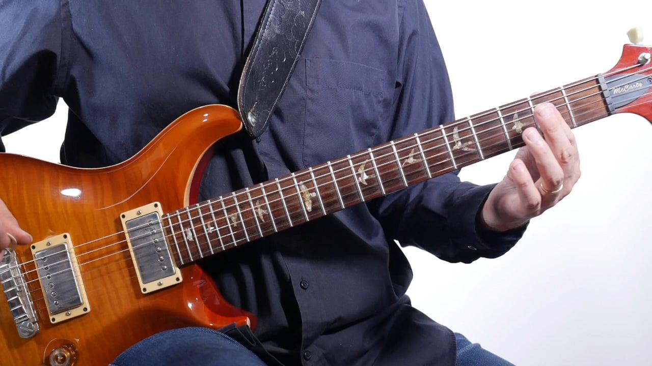 A Power Chord Essential Rock Guitar Power Chord Shape