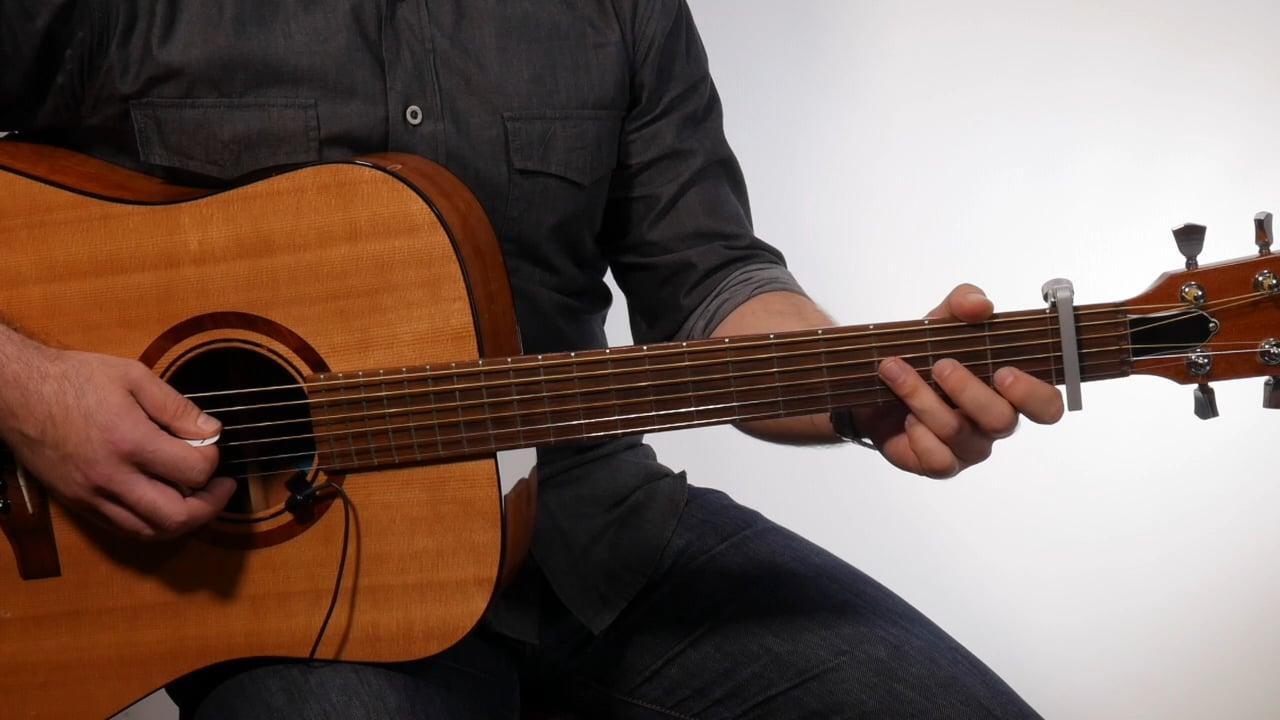 Maroon 5 Sugar Guitar Chords Easy Beginner Tutorial