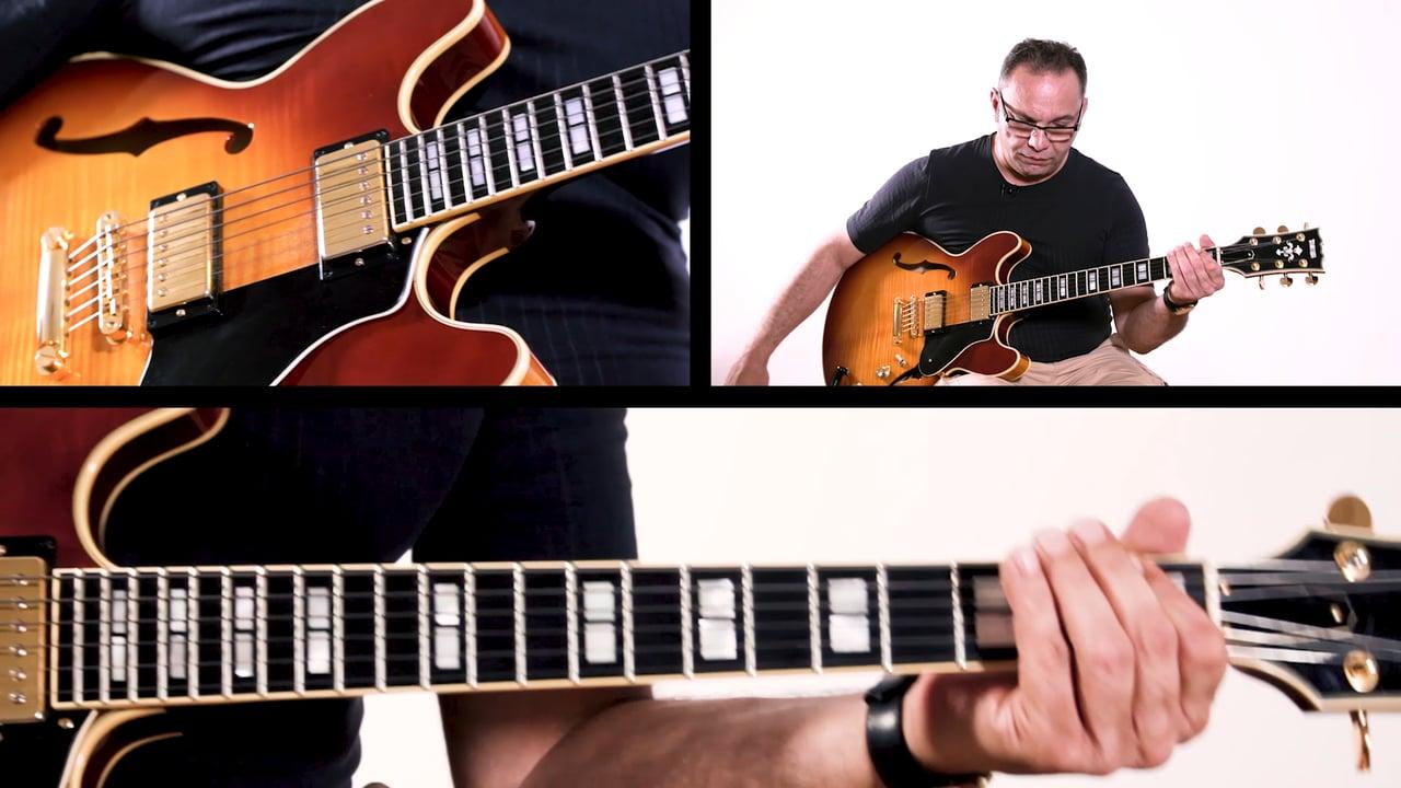 Bireli Rhythm Changes A Section Improvisation Example 5