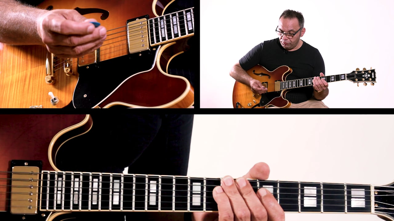Bireli Rhythm Changes A Section Rhythmic and Harmonic Variations Example 2