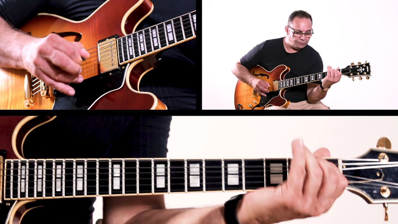 B section of Rhythm Changes Bireli Rhythm Changes B Section Improvisation Example 6