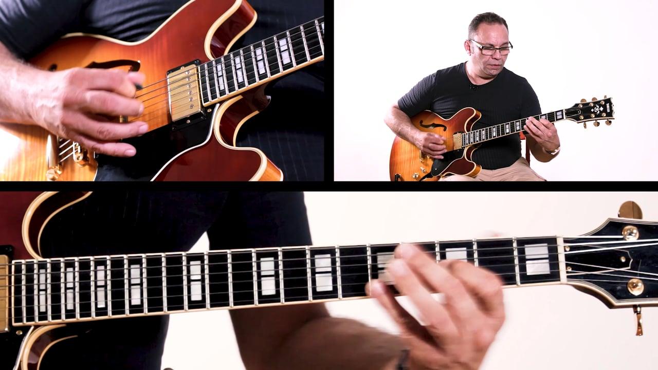 B section of Rhythm Changes Bireli Rhythm Changes B Section Improvisation Example 7