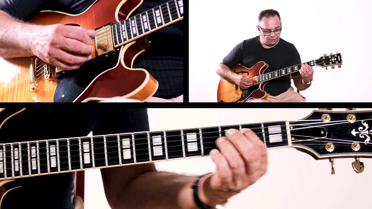 Bireli Rhythm Changes Whole Tune Improvisation Example 3