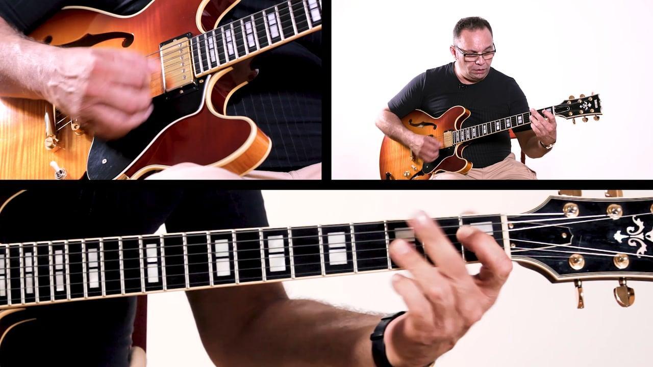 Bireli Rhythm Changes Whole Tune Improvisation Example 6