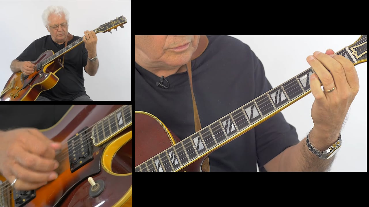 Larry Coryell McCoy Tyner style chord voicings