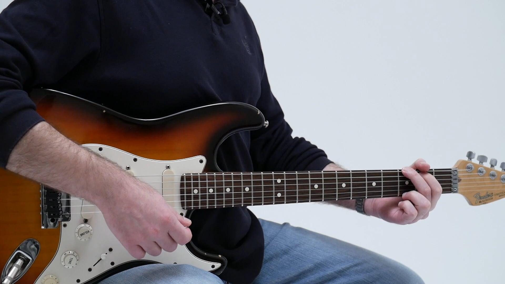 Common Chord Progression 11 Vi V Iv V Am G F G 2 Minute Guitar